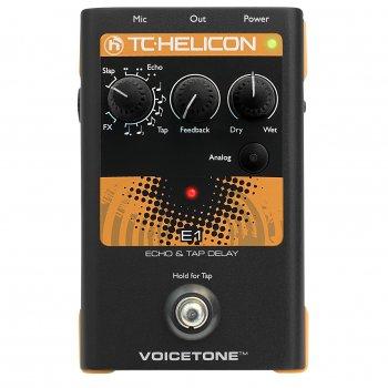 TC Helicon VoiceTone E1 - Echo & Tap Delay