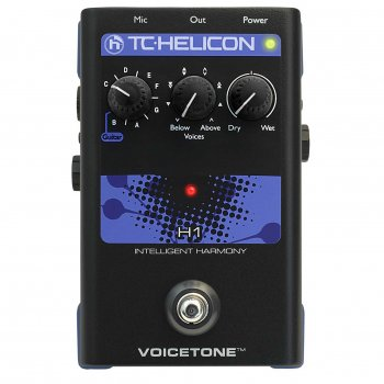 TC Helicon VoiceTone H1 - Intelligent Harmony