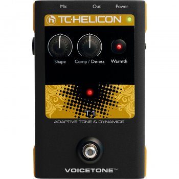 TC Helicon VoiceTone T1 - Adaptive Tone & Dynamics