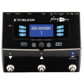 TC Helicon VoiceLive Play Acoustic Vocal Effect Processor