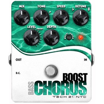 Tech 21 Boost Bass Chorus Bass Pedal (B-Stock)
