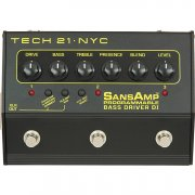 Tech 21 Sans Amp Programmable Bass Driver D.I.