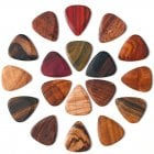 Timber Tones Wooden Guitar Picks/Plectrums