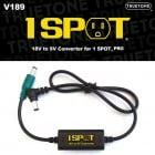 TrueTone V189 Voltage Adaptor 18V to 9V