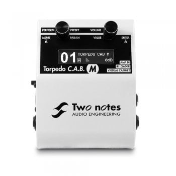 Two Notes Torpedo C.A.B. M - Cabinet & Power Amp Simulation Pedal
