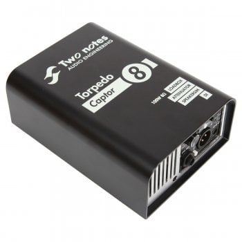 Two Notes Torpedo Captor 8 Compact 100W Loadbox & Amp DI