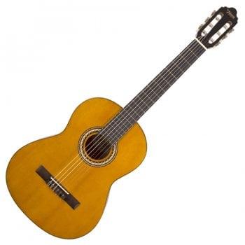 Valencia VC203 3/4 Size Classical Nylon String Guitar, Antique Natural