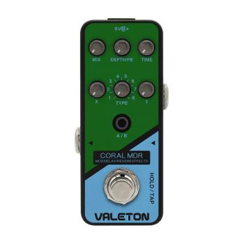 Valeton CRL1 Coral MDR Mod/Delay/Reverb Effects Pedal