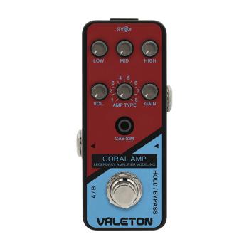 Valeton Valeton CRL5 Coral Amp Legendary Amplifier Modelling Pedal