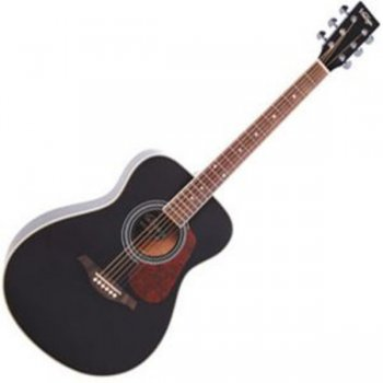Vintage V300 Acoustic Guitar (Black)