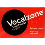 Vocalzone 24 Throat Pastilles - Original Flavour