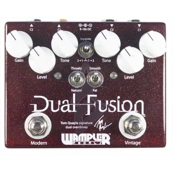 Wampler Dual Fusion Drive