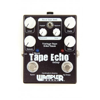 Wampler Faux Tape Echo Tap Tempo