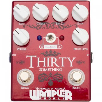Wampler Thirty Something Heritage Series Overdrive Pedal