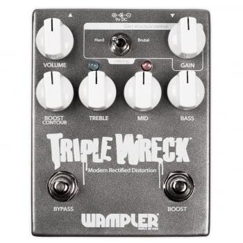 Wampler Triple Wreck High Gain Distortion