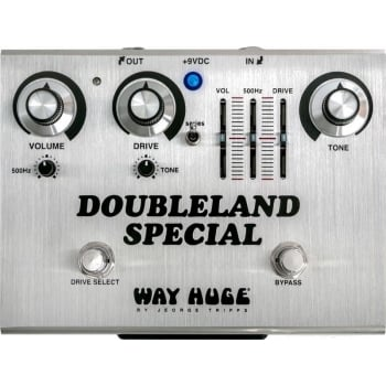 Way Huge Doubleland Special Overdrive Pedal for Electric Guitar