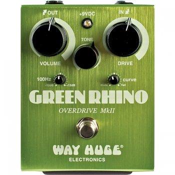 Way Huge Green Rhino Mk IV Overdrive Guitar Pedal - Brand New!