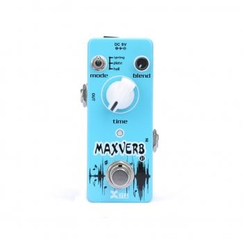 X-Vive Xvive Maxverb Digital Reverb Guitar Effects Pedal