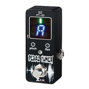 Xvive Rechargeable Chromatic Tuner Pedal