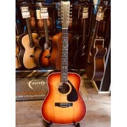 Yamaha FG412SB II 12-String Acoustic Guitar - Cherry Sunburst - Pre-Owned