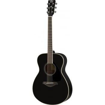 Yamaha FS820 Acoustic Guitar (Black)