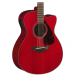 Yamaha FSX800C-RR Electro-acoustic guitar Ruby Red finish