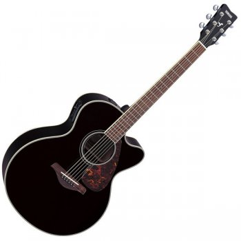 Yamaha FJX720SC Electric Guitar (Black)