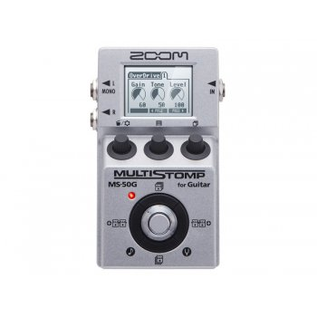 Zoom MS-50G MultiStomp Multi-Effect Pedal for Guitar
